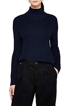 MERAKI Chunky Roll Neck suéter Navy)