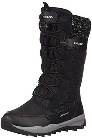 Geox J Orizont B Girl ABX C, Botas de Nieve para Niñas, (Black C9999)