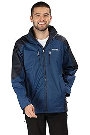 Regatta Calderdale III Waterproof & Breathable Mesh Lined Outdoor Shell Jacket Chaqueta Impermeable, Hombre