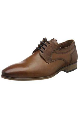 Lloyd DARGUN, Zapatos de Cordones Derby para Hombre, (Cognac 3)