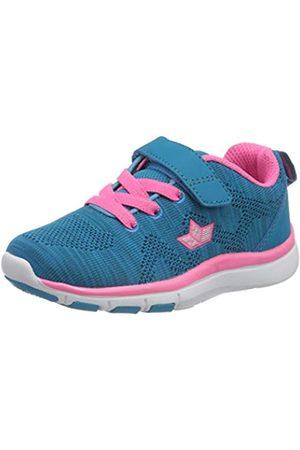 LICO Colour Vs, Zapatillas de Marcha Nórdica para Niñas, Turquesa (Türkis/Pink Türkis/Pink)