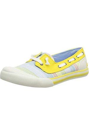 Rocket Dog Jazzin Jetty, Zapatillas sin Cordones para Mujer, (Ravi Yellow P21)
