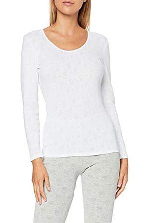 Damart Tee Shirt Manches Longues Camiseta térmica, (Blanc 56678/1010)