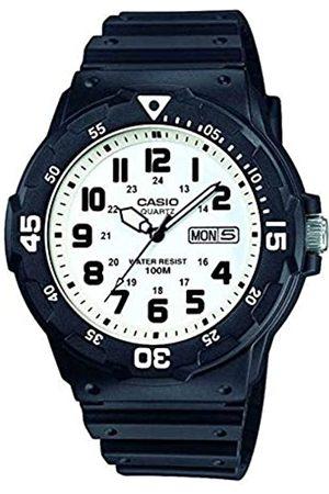 Casio Reloj Analogico para Hombre de Cuarzo con Correa en Resina MRW-200H-7BVEF
