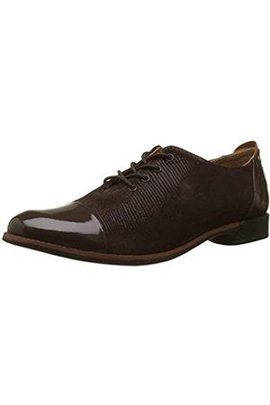 TBS MISSIES, Zapatos de Cordones Oxford para Mujer, Marron (Chocolat 035)