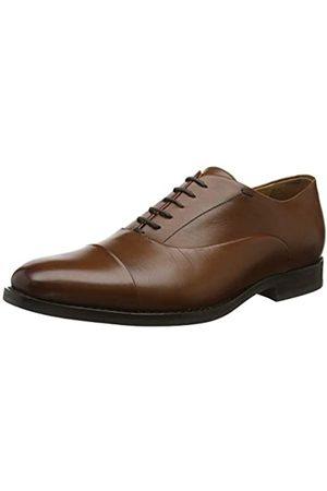 Geox U Hampstead a, Zapatos de Cordones Oxford para Hombre, (Cognac C6001)