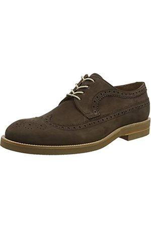 Lottusse T2470, Zapatos de Cordones Brogue para Hombre, (Heaven Moka Heaven Moka)