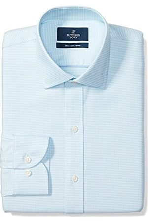Buttoned Down Slim Fit Spread Collar Pattern Camisa
