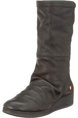 softinos Abbe555sof, Botas Altas para Mujer, (Black 000)