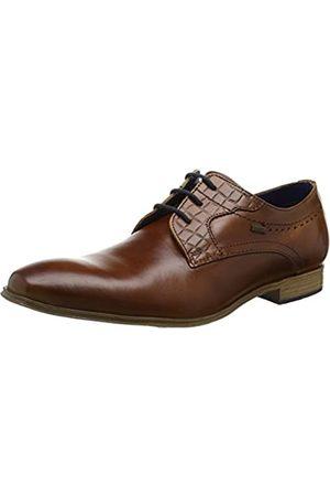 Bugatti 311252022100, Zapatos de Cordones Derby para Hombre, (Cognac)