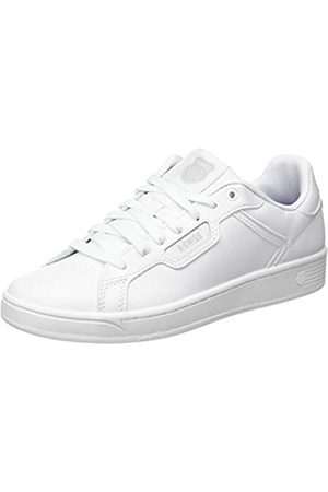 K-Swiss Clean Court II CMF, Zapatillas para Mujer, Weiß (White/White/Gulgray 141)