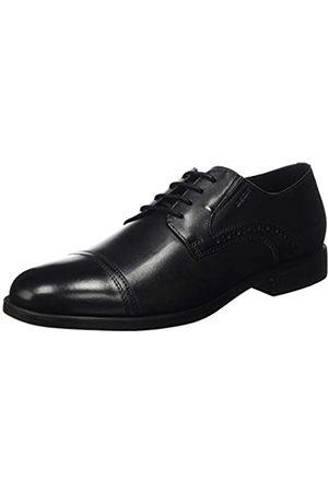 Geox U Domenico B, Zapatos de Cordones Derby para Hombre, (Black C9999)
