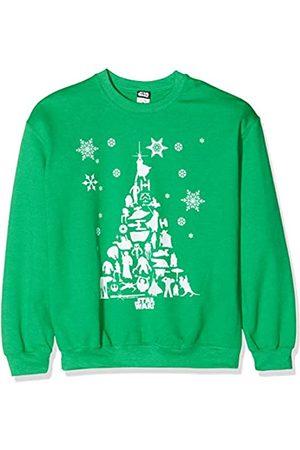STAR WARS Men's Christmas Tree Sweatshirt Sudadera