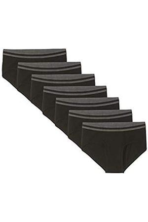 FIND Marca Amazon - 7 Pack Stretch Briefs calzoncillos hombre, 48 (Talla del fabricante: Small)