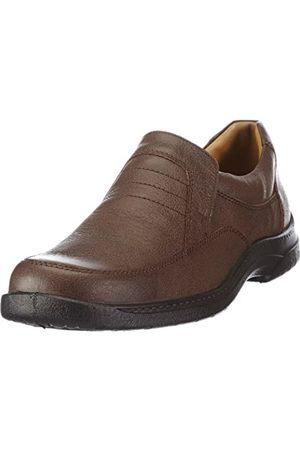 Jomos Feetback - Casual de cuero hombre, (Braun (Capucino))