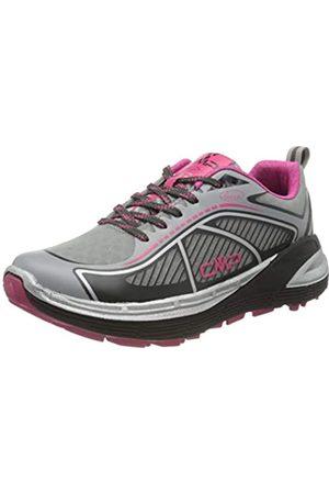 CMP Nashira Maxi Wmn Shoe, Zapatillas de Trail Running para Mujer, (Cemento-Antracite 74UE)