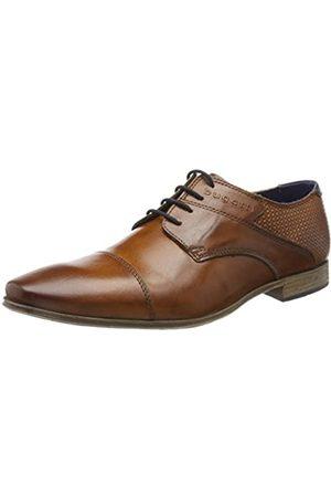 Bugatti 312420012100, Zapatos de Cordones Derby para Hombre, (Cognac 6300)
