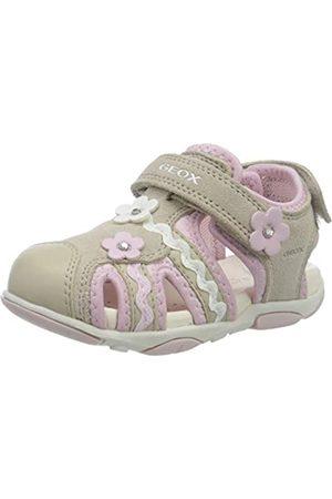 Geox B Sandal Agasim Girl B, Sandalias de Punta Descubierta para Bebés, ( /Pink C0303)