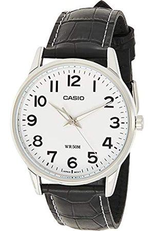 Casio Reloj Analogico para Hombre de Cuarzo con Correa en Piel MTP-1303PL-7BVEF