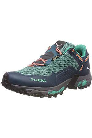 Salewa WS Speed Beat GTX, Zapatillas de Running para Asfalto para Mujer, (Shaded Spruce/Fluo Coral 8631)