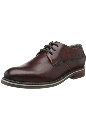 Bugatti 312843021100, Zapatos de Cordones Derby para Hombre, (Red 3000)