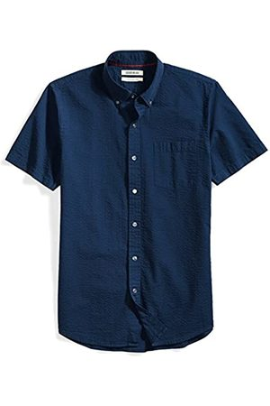 Goodthreads Slim-Fit Short-Sleeve Seersucker Shirt Button-Down-Shirts