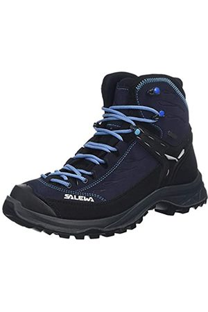 Salewa WS Hike Trainer Mid GTX, Zapatos de High Rise Senderismo para Mujer, (Hector/French Blue 2242)
