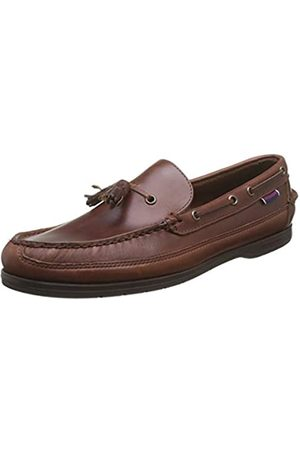 SEBAGO Ketch - Náuticos para hombre, Marrone (Marron (brown Oiled Waxy))