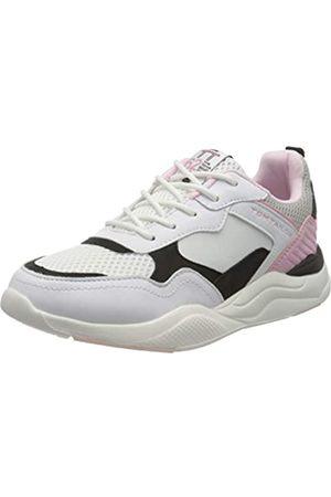 TOM TAILOR 8070702, Zapatillas para Niñas, (White-Black-Rose 02693)