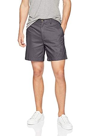 Amazon Classic Fit – Pantalón corto de corte clásico para hombre (17,8 cm)