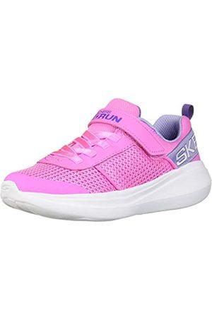 Skechers GO Run Fast Viva Valor, Zapatillas Chica, (Pink Mesh/Lavender Trim PKLV)