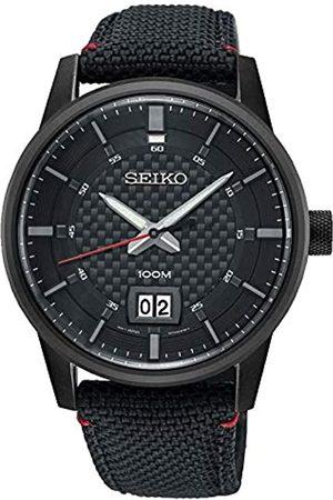 Seiko Reloj Analogico para Hombre de Cuarzo con Correa en Nailon SUR271P1