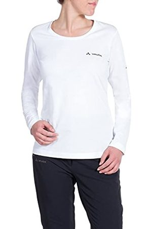 Vaude T-Shirt Brand Long Sleeve Camisa, Mujer,