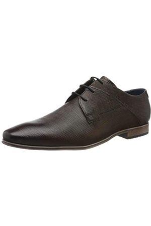 Bugatti 312420183500, Zapatos de Cordones Derby para Hombre, (Brown 6000)