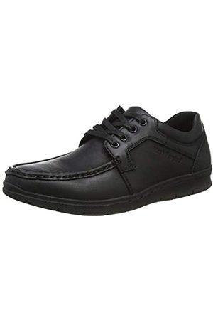 Hush Puppies Dudley, Zapatos de Cordones Derby para Hombre, (Black Black)