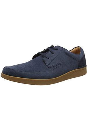 Clarks Oakland Craft, Zapatos de Cordones Derby para Hombre, (Navy Nubuck Navy Nubuck)