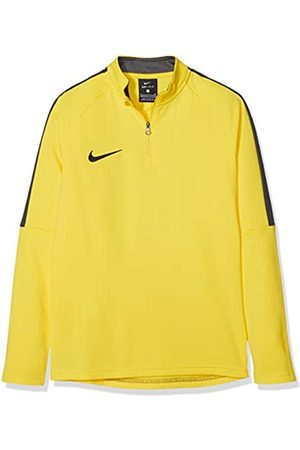 Nike Kids' Dry Academy 18 Football Top Camiseta de Manga Larga, Unisex niños, (Yellow/Anthracite/(Black)