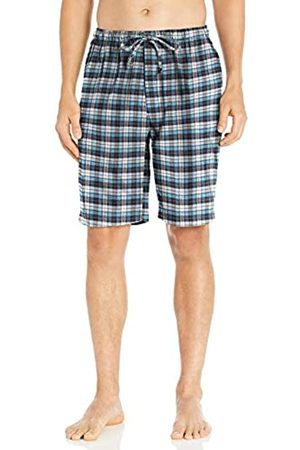 Goodthreads Flannel Pajama Short Bottoms, Blue White Check