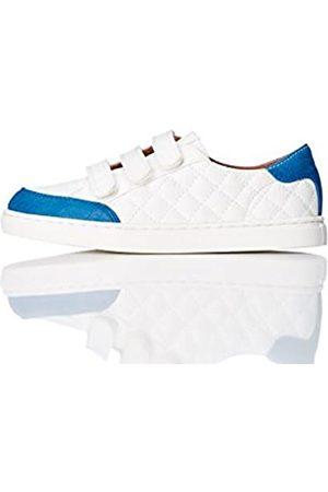 RED WAGON Zapatillas de Deporte Quilted con Velcro para Niños, (White)