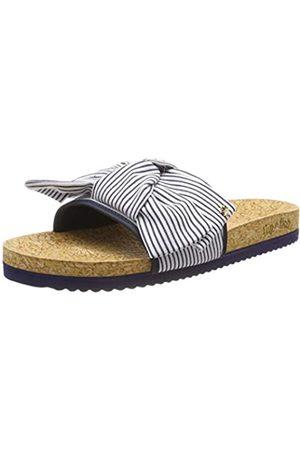 flip*flop Poolbow Stripe, Zuecos para Mujer, (Deep Night 0320)