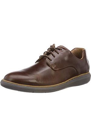 Clarks Un Voyageplain, Zapatos de Cordones Derby para Hombre, (Mahogany)
