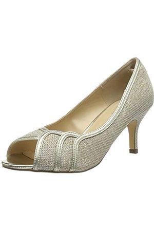 Paradox London Pink Gracia, Zapatos de tacón con Punta Abierta para Mujer, (Champagne 225)