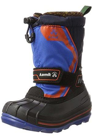 Kamik SNOWCOAST4, Botas de nieve Unisex niños, (BLUE-BLEU BLU)