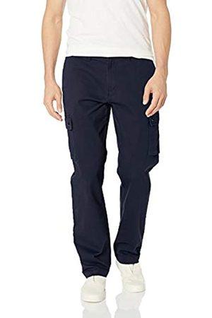 Amazon Pantalones cargo elásticos de corte recto para hombre