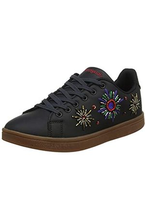 Desigual Shoes Cosmic New Galactic, Zapatillas para Mujer, (Black 2000)