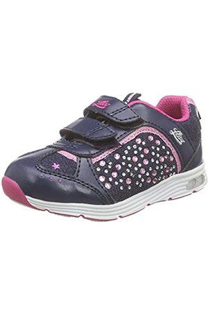 LICO Shine V Blinky, Zapatillas para Niñas, (Marine/Pink Marine/Pink)