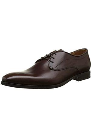 Geox U New Life A, Zapatos de Cordones Derby para Hombre, (Ebony)