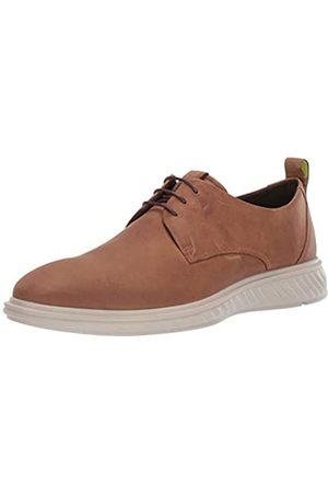 Ecco ST.1HYBRIDLITE, Zapatos de Cordones Derby para Hombre, (Camel 2034)