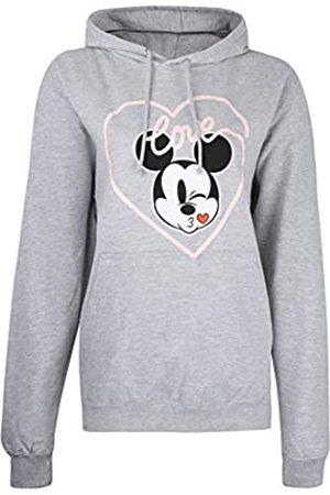 Disney Mickey Love Kiss Hoodie Sudadera con Capucha