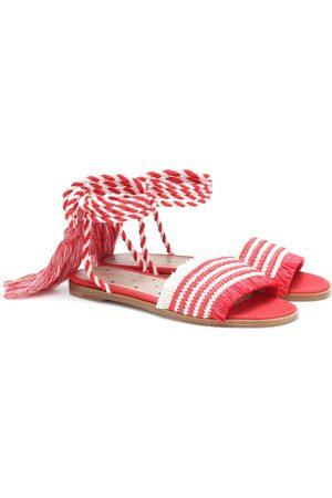 RED(V) Sandalias de rafia